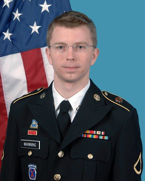 U.S+Army+photo+of%C2%A0+Private+Chelsea+Manning.+Manning+released+the+Iraq+War+logs+and+Afghan+War+logs+to+Wikileaks+in+2010.
