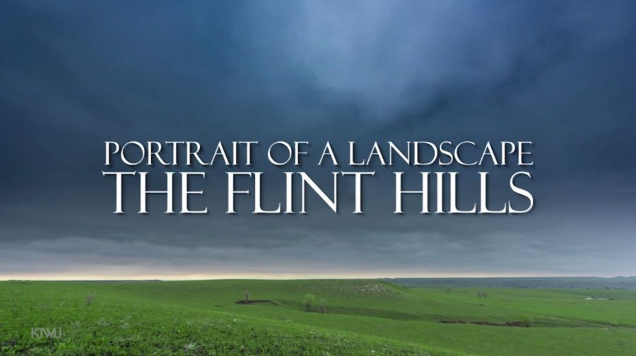 The title image for KTWU's new program PORTRAIT OF A LANDSCAPE: THE FLINT HILLS, to be nationally distributed on the PBS Plus service in spring 2017.