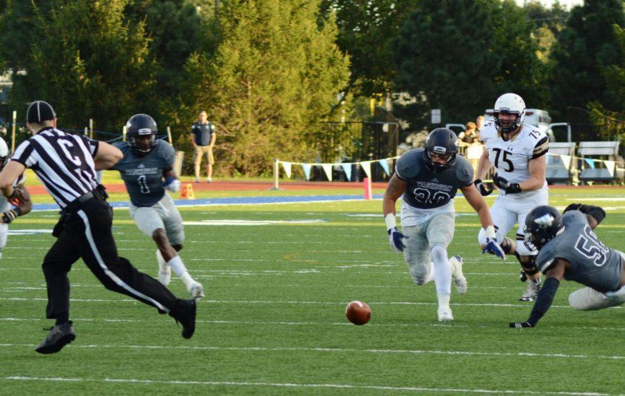 Ichabods Recover: Ichabods take the ball away from the Lions.
