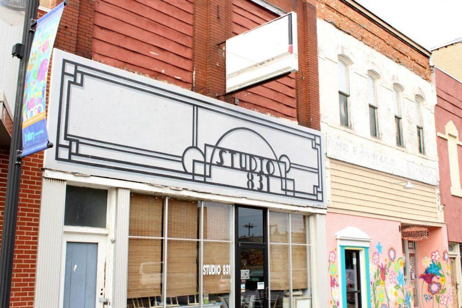 Renovations: Studio 831, which rests on Kansas Avenue along with the multiple other galleries, shops and venues, is undergoing renovations in February alongside continued artist galleries. Studio 831 is currently open on First Fridays or by appointment with owner Barbara Waterman-Peters.
