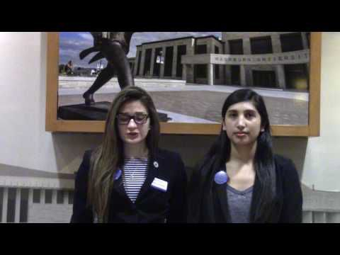 Victoria Toothaker and Sarah Arriaga - WSGA 2017 Platform Video