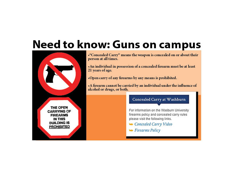 Guns on campus: What you need to know