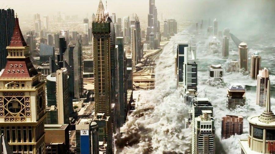 "The business: ""Geostorm"" was plagued by a multitude of issues during its production. Producers ordered $15 million worth of reshoots after bad test screenings, and Katheryn Winnick recorded multiple scenes which were all scrapped and replaced with Julia Denton in the same role."