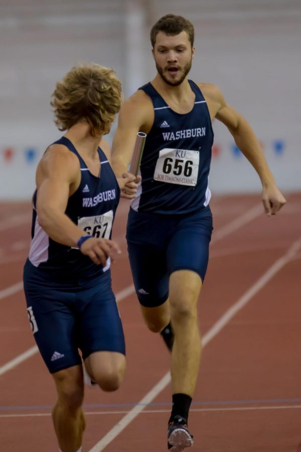 Washburn track performs in Bob Timmons Challenge in Lawrence