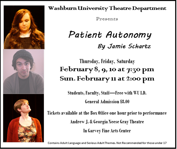 Washburn theater presents student written play