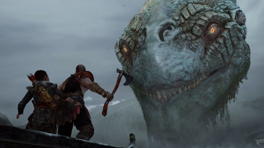 'God of War' delivers huge spectacle, engaging story
