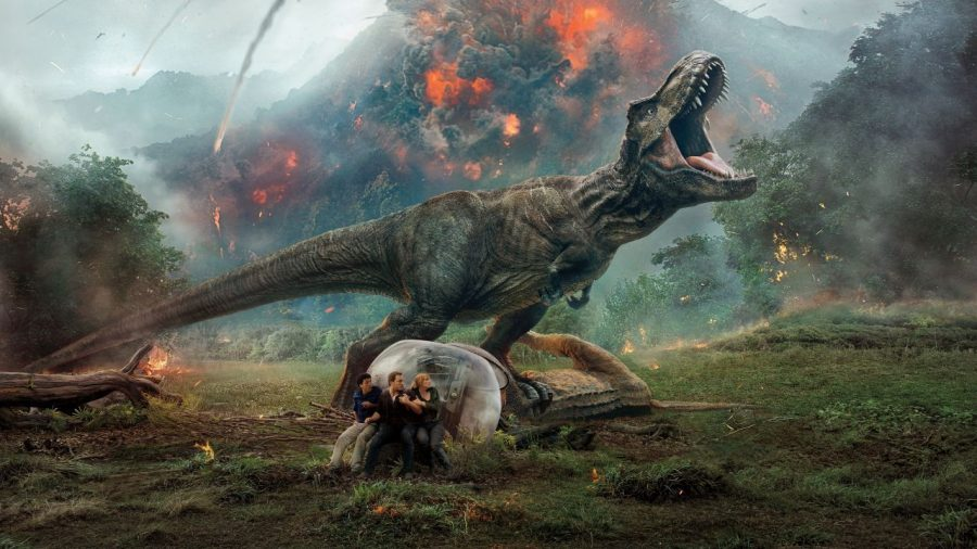 Taking+a+bite+out+of+box+office%3A%C2%A0%22Jurassic+World%3A+Fallen+Kingdom%22+has+not+done+nearly+as+good+as+its+predecessor+at+the+box+office.+%22Jurassic+World%22+was+the+number+one+film+at+the+box+office+three+weeks+running+and+in+those+weeks+grossed+over+%24445+million+domestically.+%22Fallen+Kingdom%22+has+dropped+to+the+second+film+at+the+box+office+in+its+third+weekend+and+has+only+grossed+%24333+million+domestically.%C2%A0
