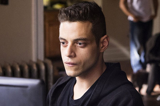 Rami Malek as Elliot Alderson in 'Mr. Robot', a series aiming to end while it is still great television.