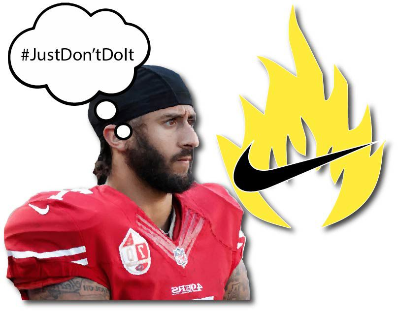 Colin Kaepernick's Nike endorsement leads to people destroying their personal Nike gear