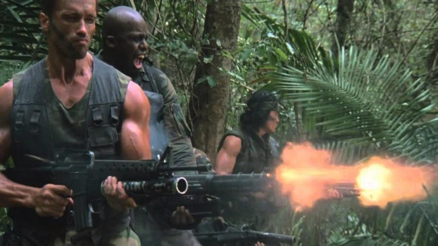 John McTiernan's Predator (1987)- an iconic film that started a franchise, and still remains one of the greatest action films ever.