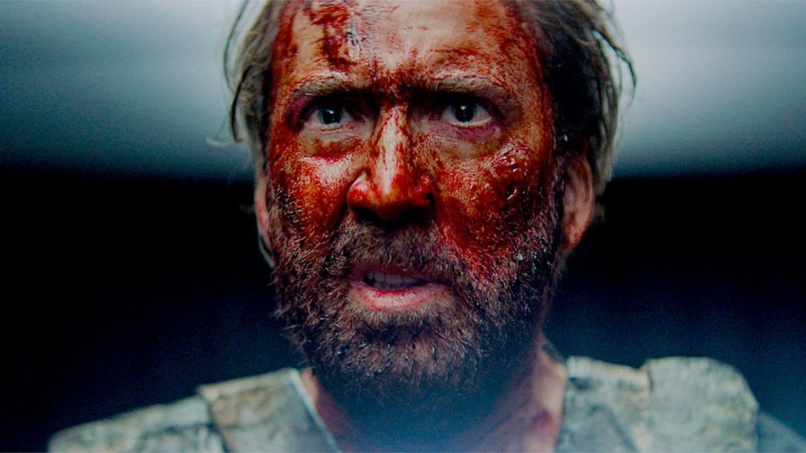 A midnight movie rock opera: Nicolas Cage's Red leads Cosmatos's Mandy, self-described perfectly as a