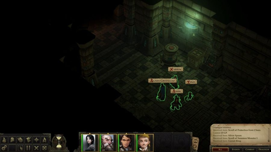 Watch for Traps: The party exploring one  dungeons early in