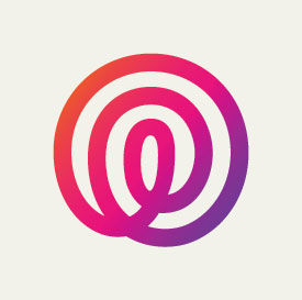 The logo of Life360's app