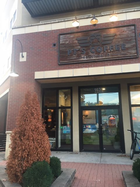 Help small business: Small businesses like PT's Coffee Roasting Company is a fun and local business where many students go for the great coffee and the warm and welcoming experience