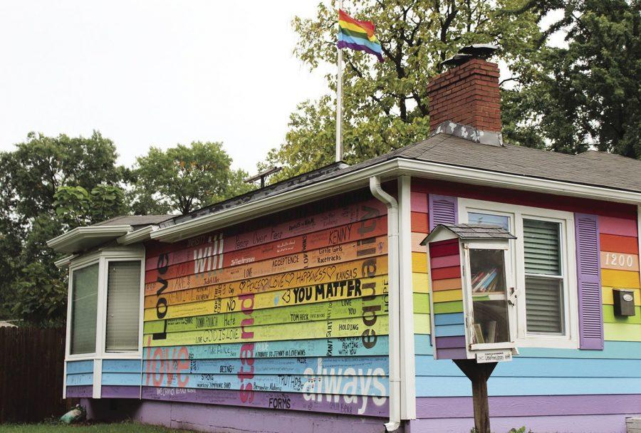 The Equality House will host a drag show on Saturday, Oct. 26 at 6 p.m. It is located at 200 SW Orleans St. in Topeka, directly across from the Westboro Baptist Church.