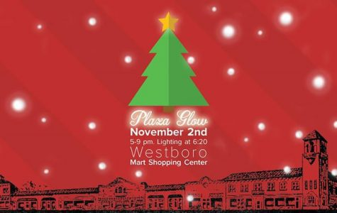A heartwarming glow: The Westboro market lights up its plaza every year to celebrate the holidays. All proceeds from the event went toward the Kansas Children's Service League.
