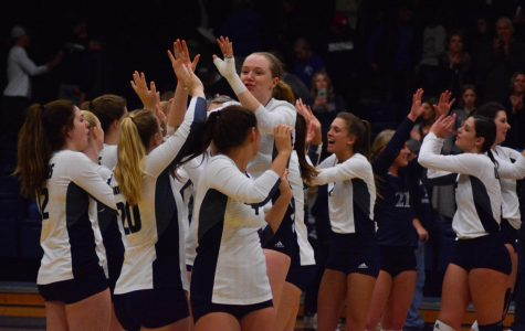 Can't be broken: Ichabod volleyball advanced to national tournament after claiming the regional championship. The team battles the Wingate Bulldogs in the quarter-finals at 6:30 p.m. on Nov. 29 in Pittsburgh, PA.