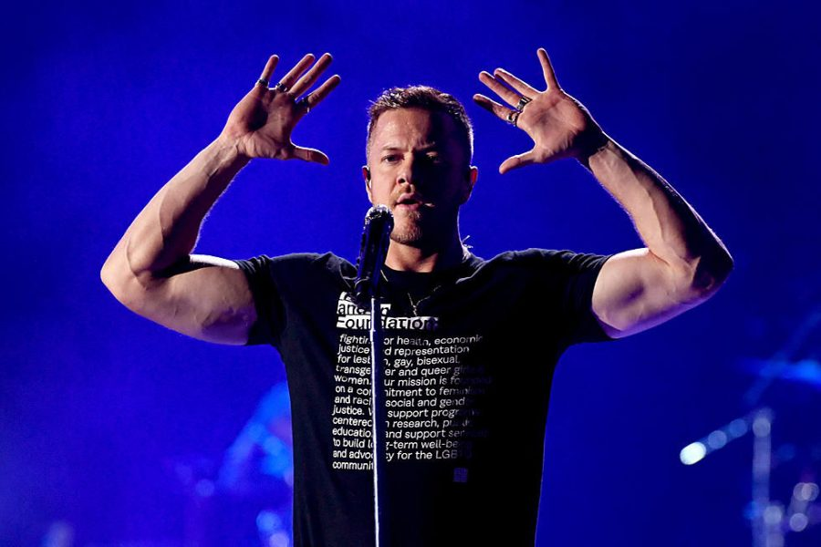 Ten+years+strong%3A+Frontman+of+Imagine+Dragons%2C+Dan+Reynolds+has+been+a+member+of+the+band+since+it%E2%80%99s+origin+in+2008.%C2%A0+Imagine+Dragons+releases+%E2%80%98Origins%2C%E2%80%99+their+fourth+full-length+studio+album.%C2%A0