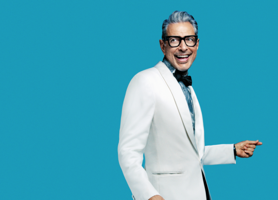 Renaissance man: Jeff Goldblum takes his talents from the big screen to the recording studio. Goldblum partners with famous faces such as Haley Reinhart, Imelda May and Sarah Silverman.