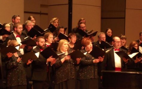 Sing out: The Topeka Festival Singers perform