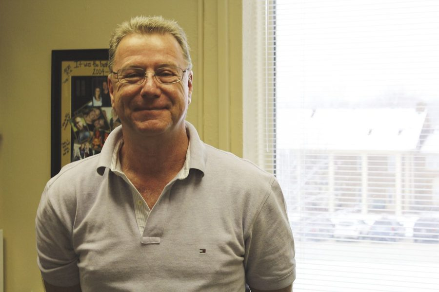 Man in the Mirror: Michael Russell talks about the ways in which he can impact the student body for the better. Russell has taught at Washburn University for more than 18 years.