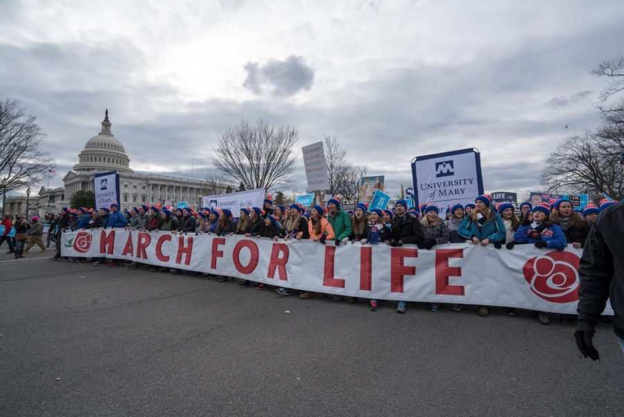 March+for+Life%3A+Supporters+of+the+Pro-Life+movement+gather+to+march+in+Washington+D.C.+There+were+nearly+100%2C000+demonstrators.