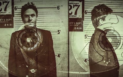 Psycho Killer: Serial killer, Ted Bundy, poses for a mugshot, as seen in the Netflix docuseries. More than 100 hours of interview recordings with Bundy were analyzed for the series.