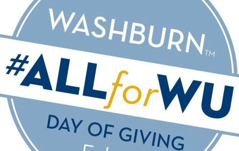 Day of Giving: The Day of Giving celebrates 154 years of Washburn. Departments and organizations submitted proposals to be considered for the Day of Giving.