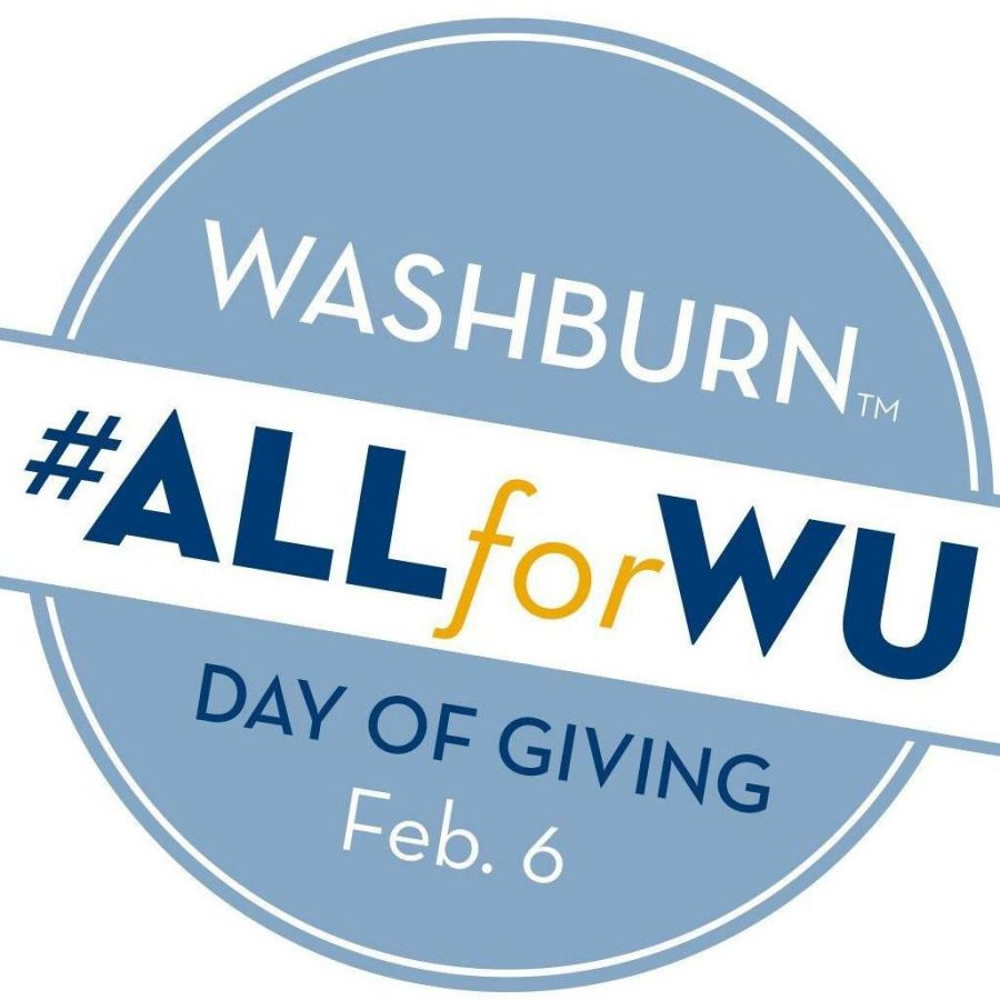 Day+of+Giving%3A%C2%A0The+Day+of+Giving+celebrates+154+years+of+Washburn.%C2%A0Departments+and+organizations+submitted+proposals+to+be+considered+for+the+Day+of+Giving.