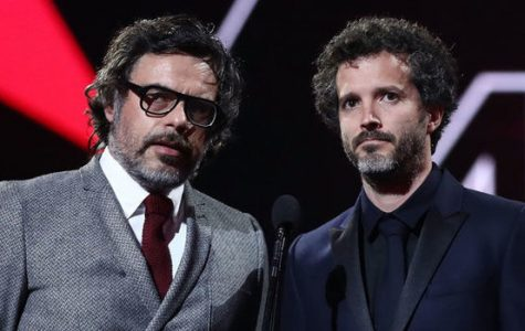Business time:The exceptionally charismatic and talented duo Flight of the Conchords deliver a great live album. Pictured are Jemaine Clement and Bret McKenzie.