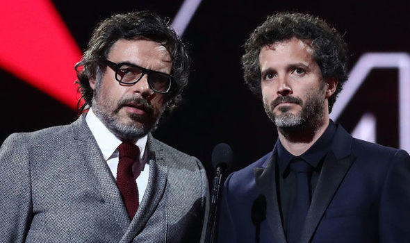 Business time: The exceptionally charismatic and talented duo Flight of the Conchords deliver a great live album. Pictured are Jemaine Clement and Bret McKenzie.