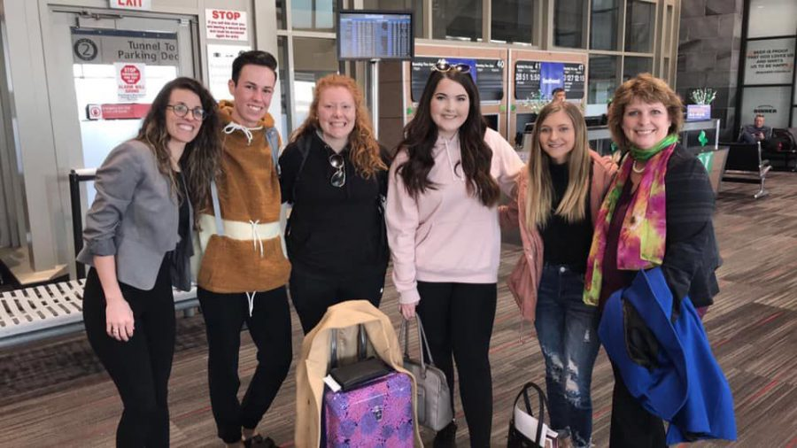 Students attend UN conference to discuss global status of women