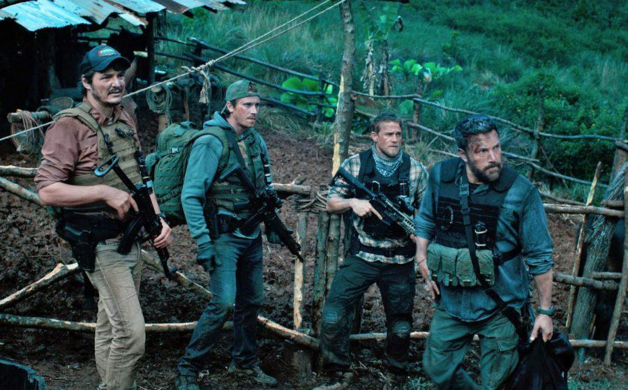 For Whom the Bell Tolls:Netflixs latest original film Triple Frontier, while not perfect by any means, is a cut above much of the duds the company has put out before. Pictured is the main cast Pedro Pascal, Garrett Hedlund, Charlie Hunnam, and Ben Affleck.