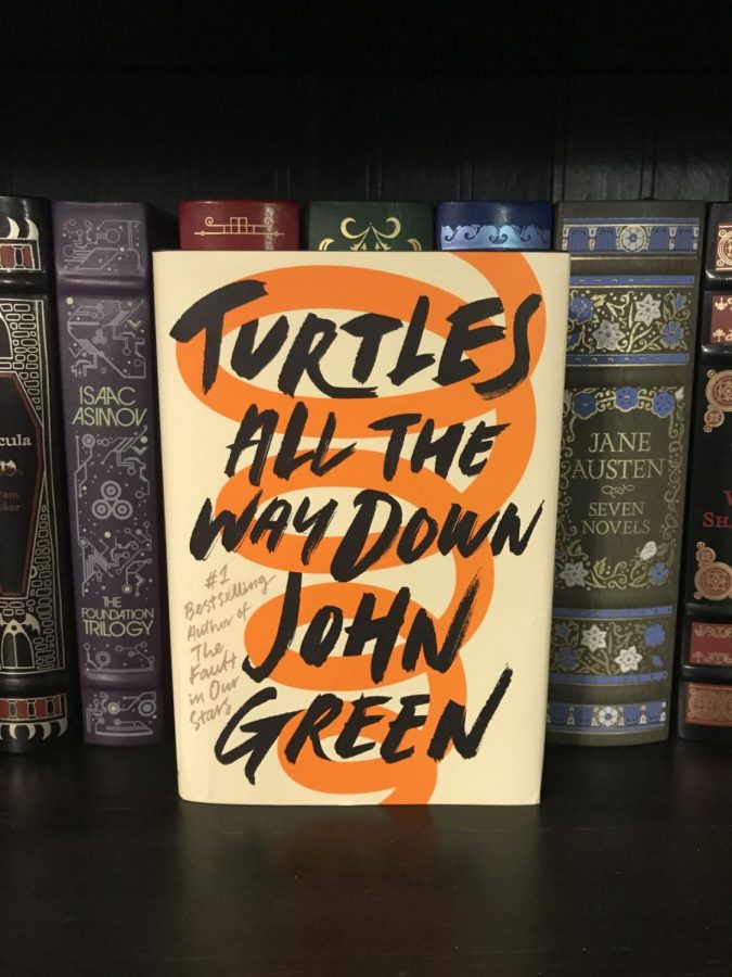Spoiler+alert%3A+This+book+is+not+about+turtles.+Best-selling+author+John+Green+does+a+great+job+revealing+the+working+minds+of+teenagers+through+action+and+speech%2C+including+like%2C+the+verbiage+that+some+like%2C+find+annoying.