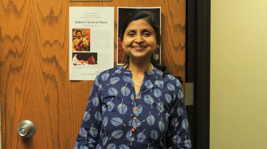 All smiles: Rao has been known to greet her students at the beginning of each class with a smile and warm welcome. Her aim is to encourage students in the accounting field through creating a positive classroom atmosphere.