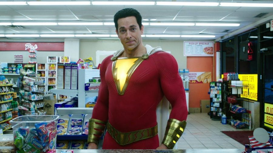 DC%27s+best%3A%C2%A0Without+a+Doubt%2C+%22Shazam%21%2C%22+is+one+of+the+most+enjoyable+superhero+films+I+have+seen+in+recent+memory%2C+let+alone+the+best+DC+film+since+the+Christopher+Nolan+Batman+trilogy.+Pictured+is+Zachary+Levi%2C+as+Billy+Batson%27s+alter+ego%2C+Shazam.