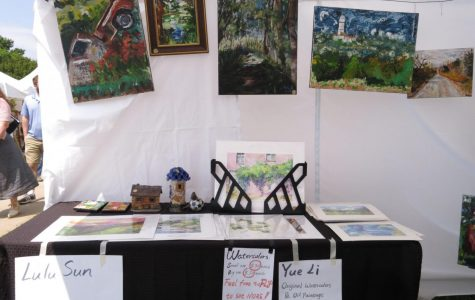 Student artists display their works in Mulvane Art Fair.