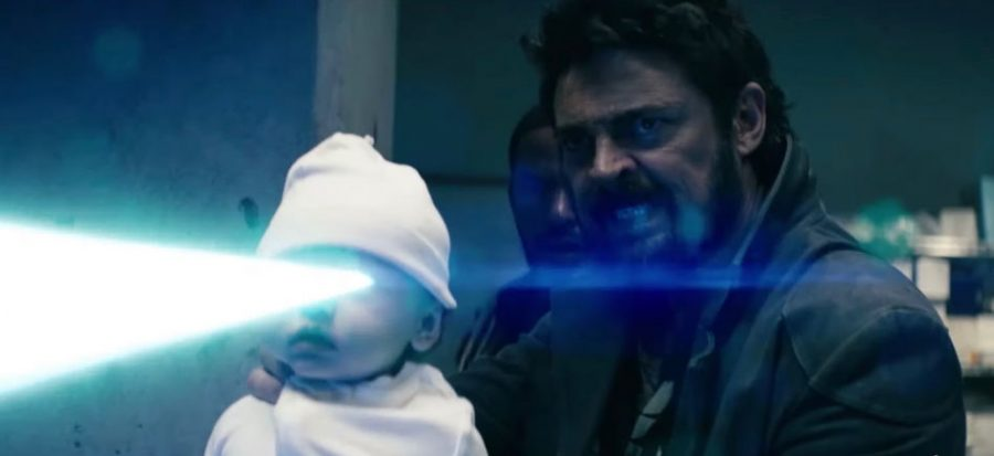 Diabolical: Karl Urban as Billy Butcher, who is using a super-powered baby to defend himself. The Boys season 1 is a phenomenal piece of television. I cannot recommend the series enough.