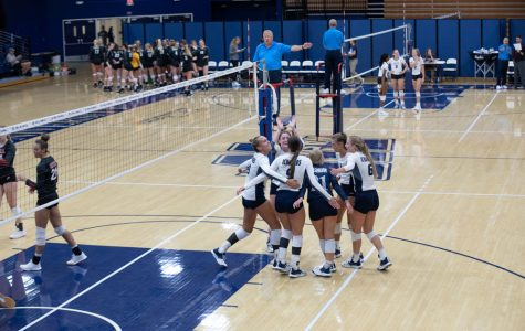 Sko bods: Washburn University women's volleyball team pulls off another win against Texas Woman's University. The Ichabods finished the Washburn Invitational tournament 4-0.