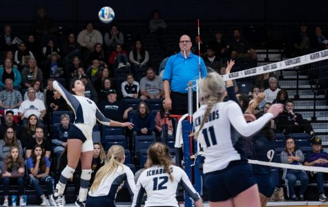 Ichabod volleyball sweeps Newman University