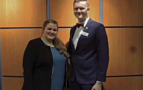 Candidates: Abby Trautman and Dylan Babcock are current WSGA committee members running for the 2020-2021 President and Vice President election(s).