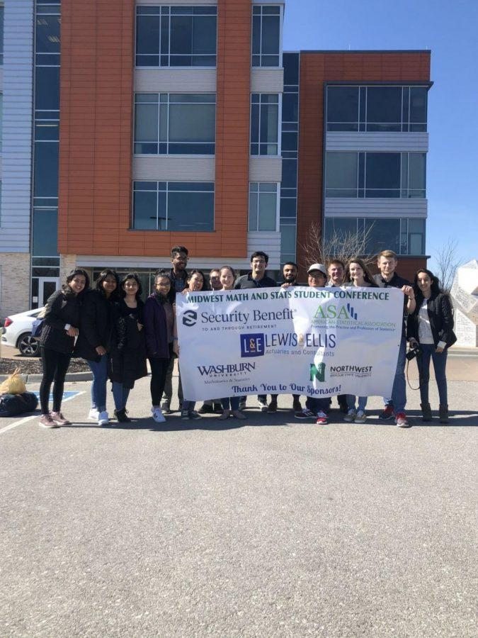 Fun weekend full of math:Washburn University students attend the Midwest Math and Stats Conference. They plan to make the conference an annual event.