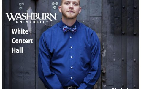 Homecoming recital: Washburn alum Von Hansen will be performing his first faculty recital since his return to Washburn as faculty. Hansen was once a student at Washburn.