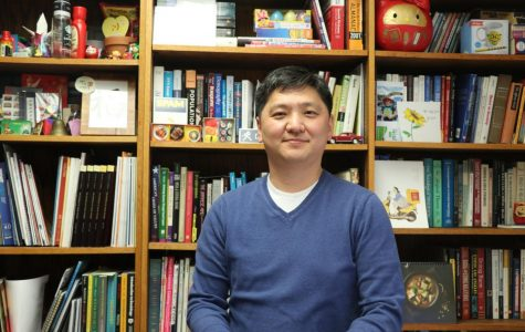 Helping students: Sangyoub Park isan associate professor of sociology at Washburn University. He helped students succeed in class, and holds many international events in the community.