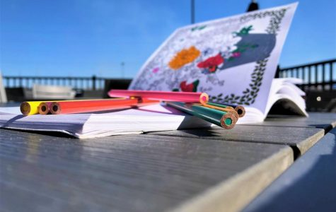 For all ages:Coloring books aren't just for kids. For a quick and easy destressing activity, pick up an adult coloring book for those moments you have in between commitments on a busy day.