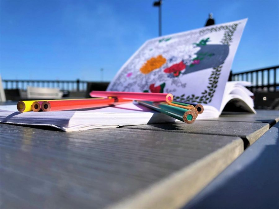 For all ages: Coloring books aren't just for kids. For a quick and easy destressing activity, pick up an adult coloring book for those moments you have in between commitments on a busy day.