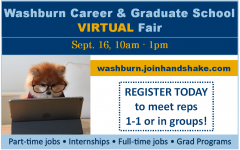 Today is the Day: Sign up today for the upcoming virtual career fair and find your dream job. This fair has been a great help for students looking for a career.
