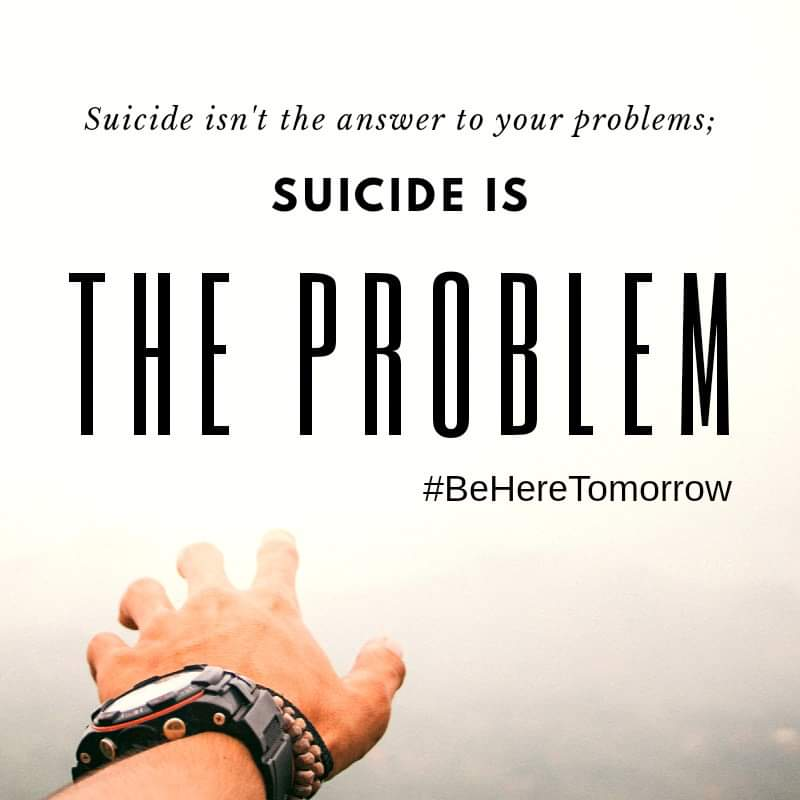This graphic quotes Kevin Hines, who is a suicide survivor and suicide prevention speaker.  The background image comes from Unsplash.com and the graphic was created using Canva.