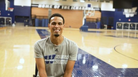 New on campus: men's basketball assistant coach Jonathan Raney
