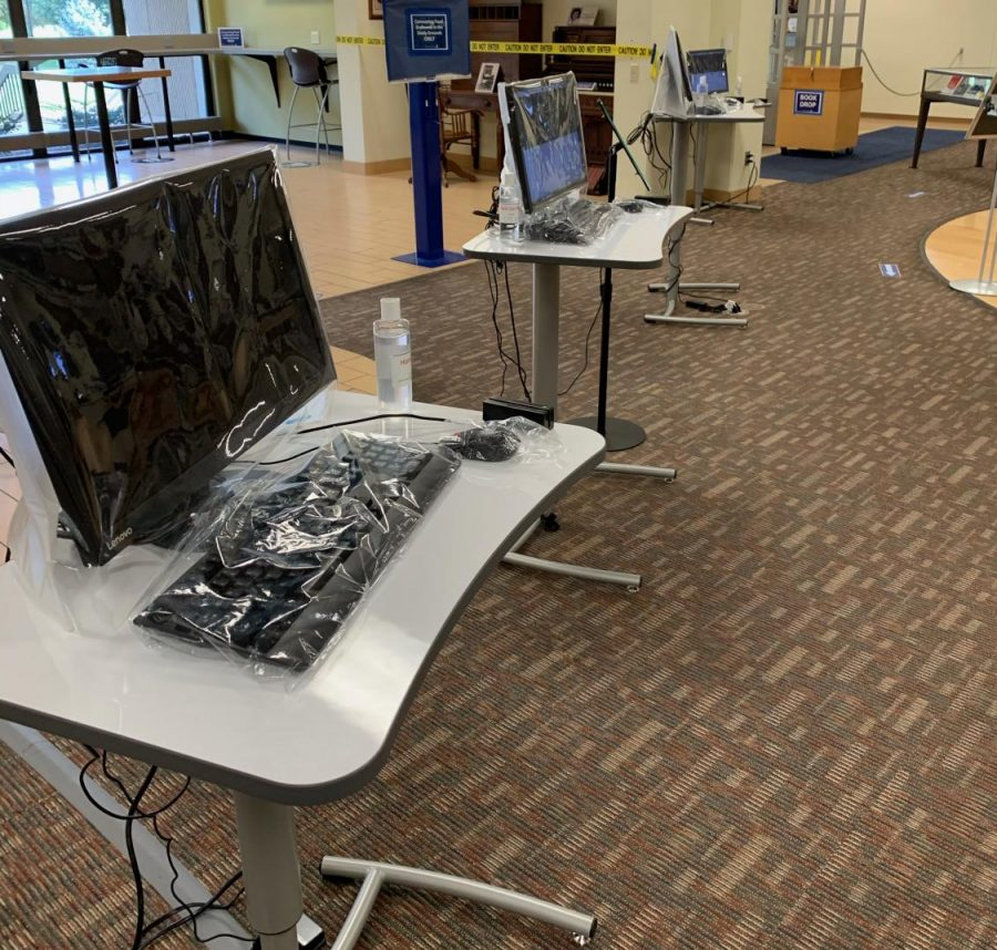 Mabee Library provides accessibility